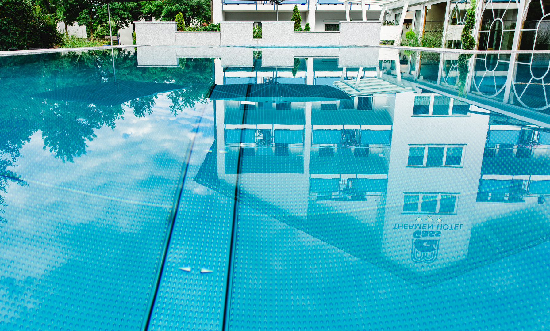 Pool Thermenhotel Gass