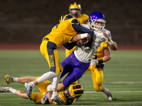 Bellevue bounces back by beating Garfield Bulldogs, 34-16