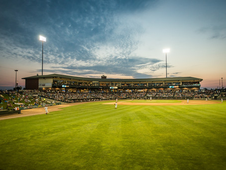 Photographer's favorite summer evenings at Dow Diamond
