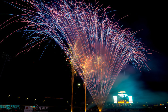 Fireworks photography tips when short on time