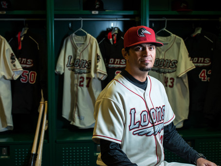 Great Lakes Loons team manager, Gil Velazquez