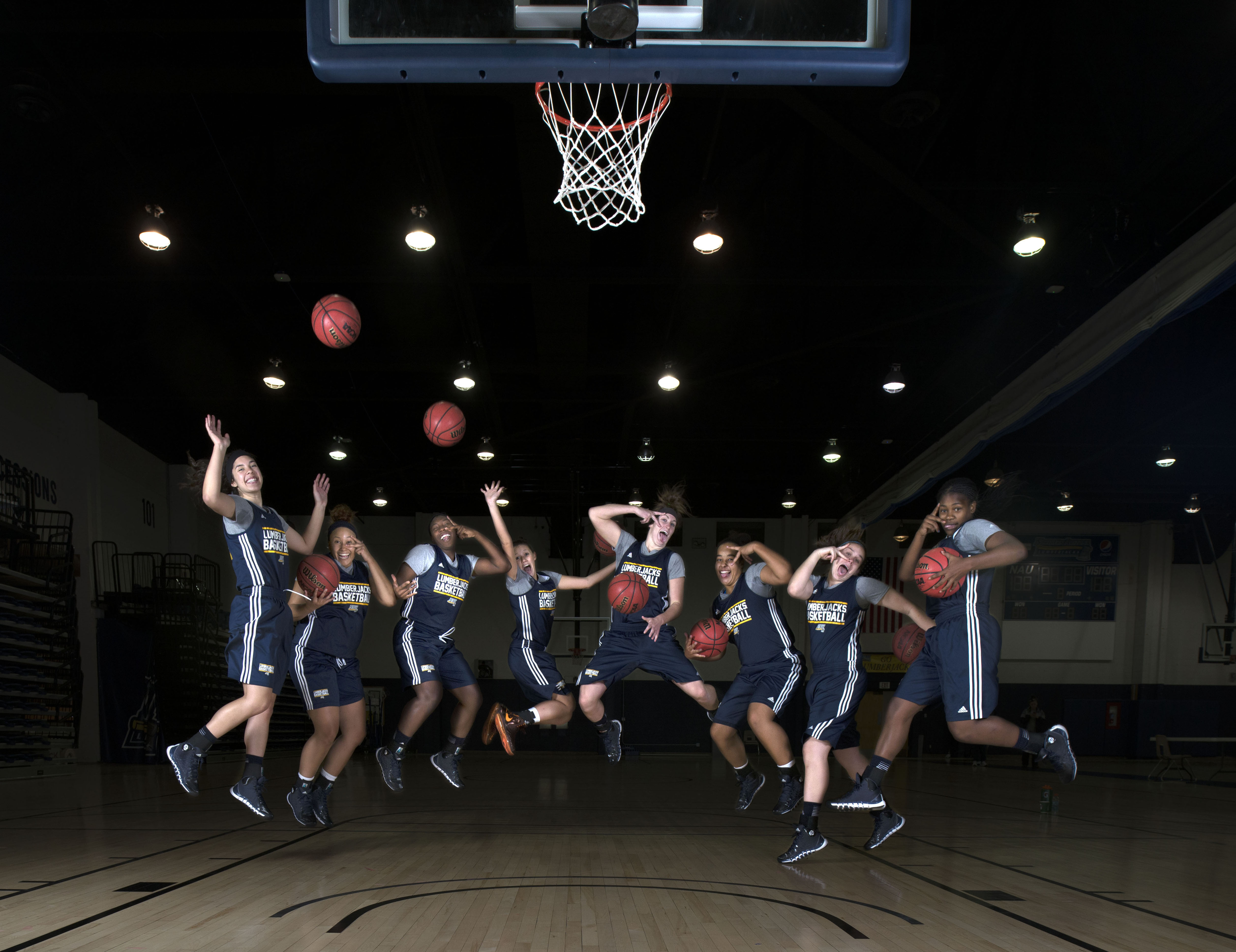 NAU Women's Basketball Team