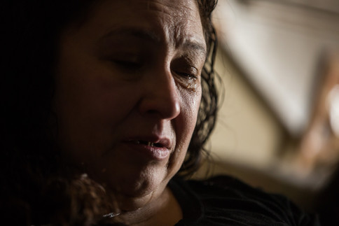 With tears in her eyes, Selia Rivas speaks about the events surrounding Sofia Ramirez's death, her 18-year-old daughter, at their home in Yakima, Wash. on Sept. 1, 2018. Ramirez was found in a parking lot at the corner of Third and Arlington streets. Her body was discovered in a car with a single gunshot wound to the head on May 7, 2017. Yakima police say the wound was self-inflicted. Yakima County Coroner Jack Hawkins ruled her death as possibly accidental. But her mother, Selia Rivas, suspects foul play in the shooting that occurred at a party just a few blocks away. Others at the party say she accidentally shot herself while playing with the gun and that they planned to drive her to a hospital, but in a panic left her in the car, according to police. The gun involved in this incident was among firearms stolen from a north Yakima retailer in 2017.