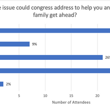 What one issue could Congress address to help you and...
