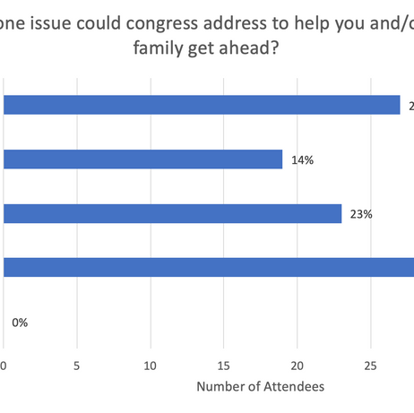 What one issue could congress address...