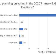 Are you planning on voting in the 2020 elections?