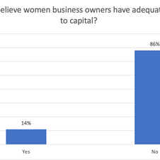 Do you believe women business owners have adequate access to capital?