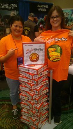 T-shirt Raffle winner, Day 1!