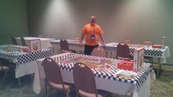 Setting up our tables