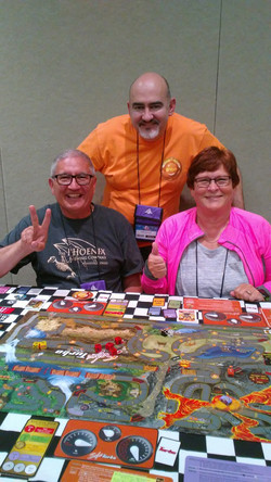Larry & Lori - Volcano experts