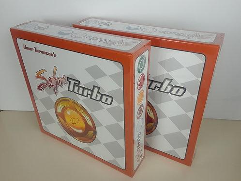 (2) Safari Turbo Board Games