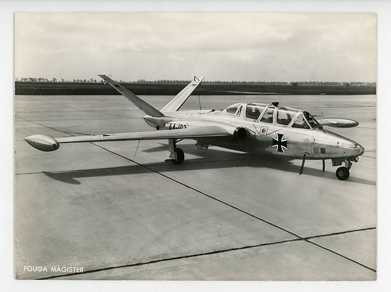 Fouga CM-170 Magister - German Airforce
