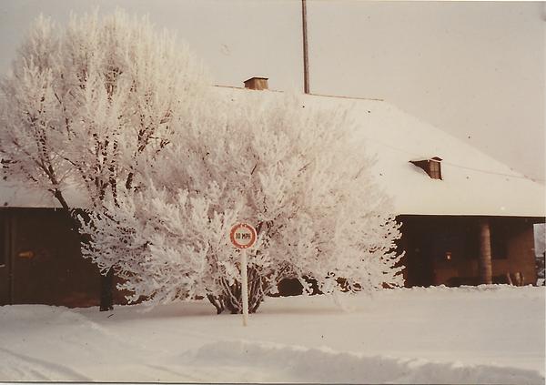 Landsberg AB Provost Marshal Winter 1956