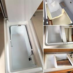 Installation av frysbox