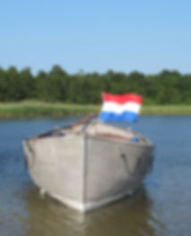 Aluminium nitad livbåt