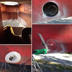 Bogpropeller montage