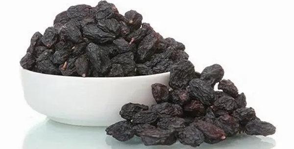 Organic Black Dried Raisins