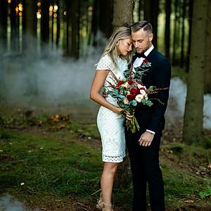 Styled Autumn Wedding