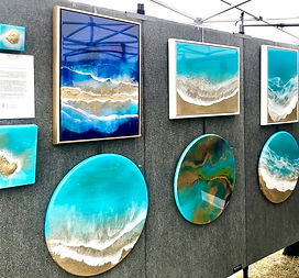 Images with ocean paintings