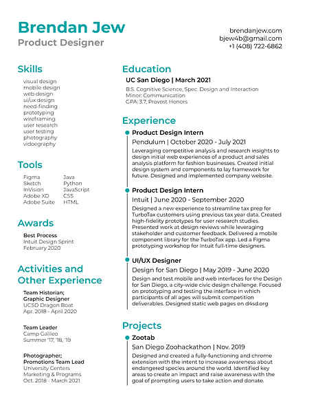 Resume - Product Designer - gmail UPDATED July 2021.png