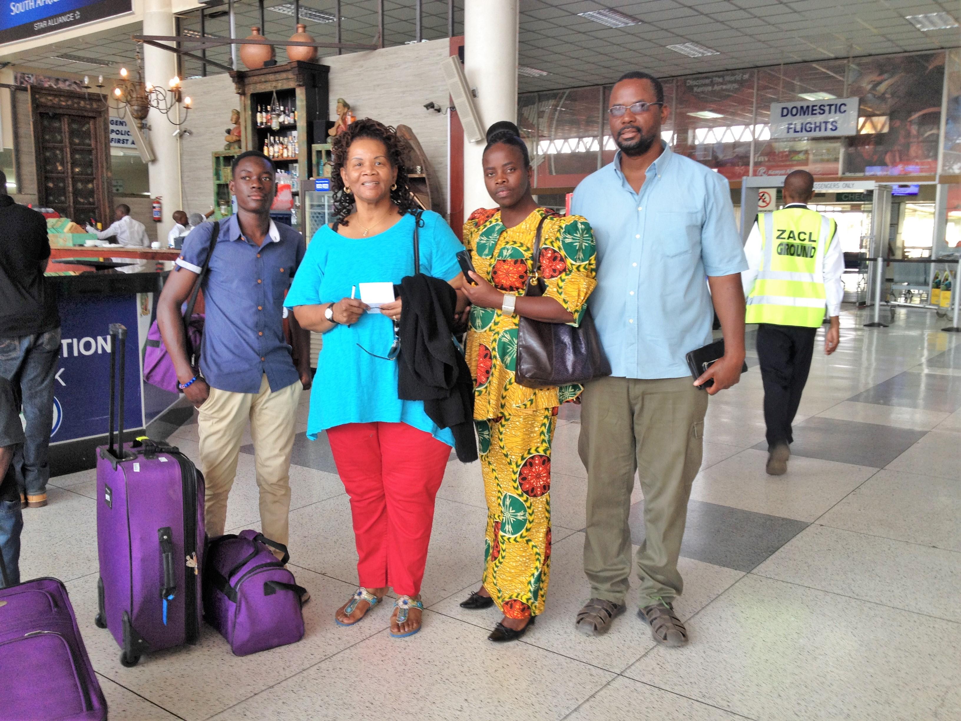 My Zambian Family