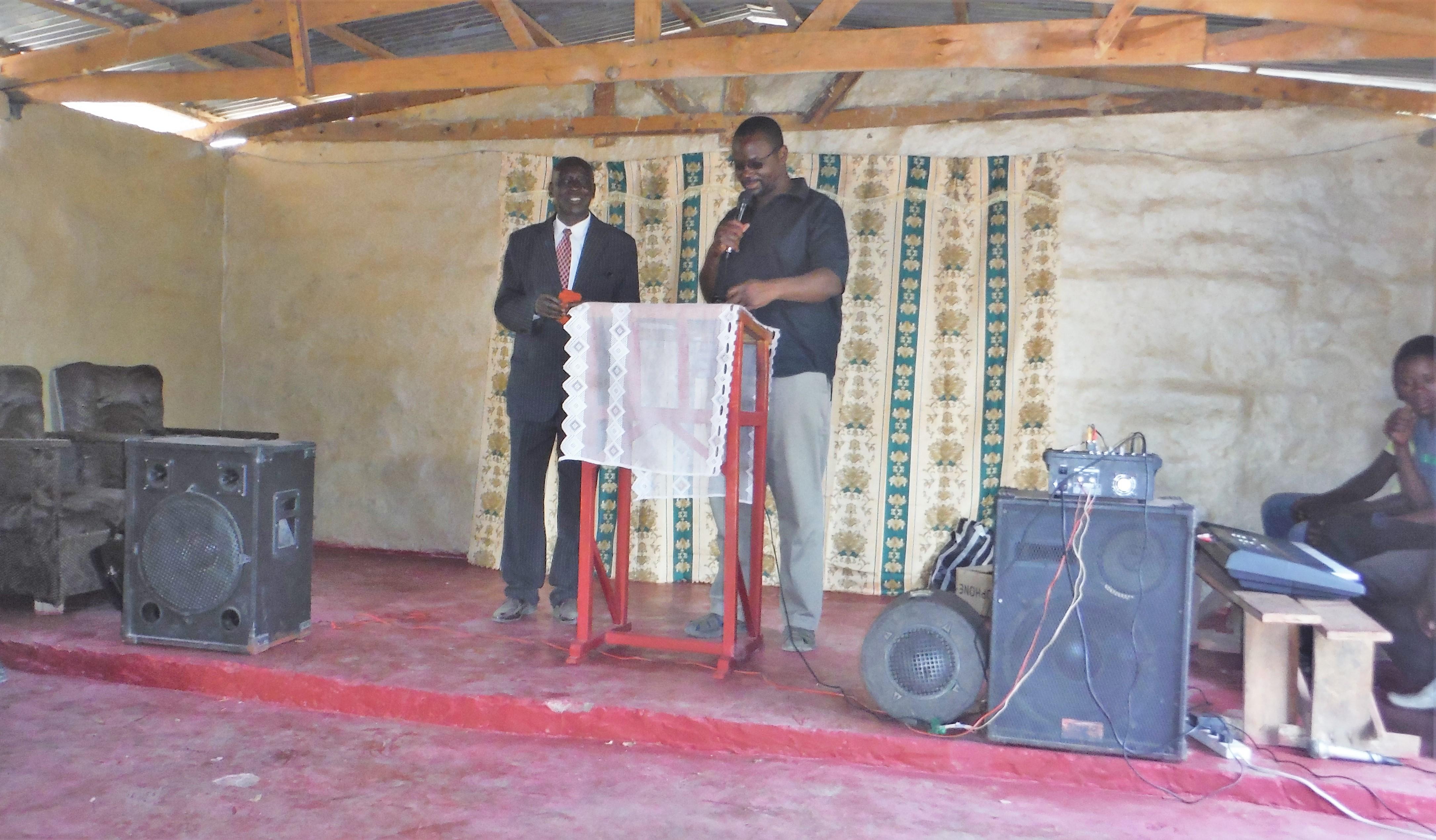 Pastor Biemba of Nkonkwa