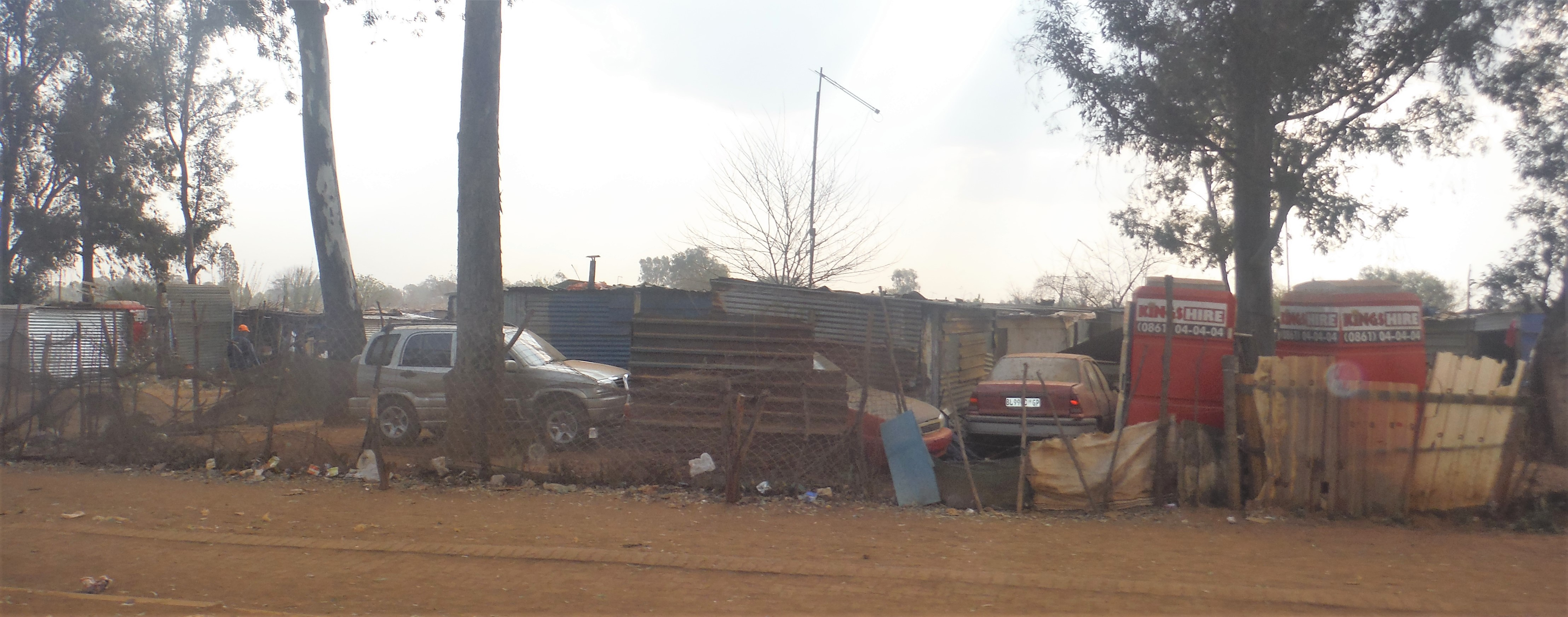 Another part of the Shanty town