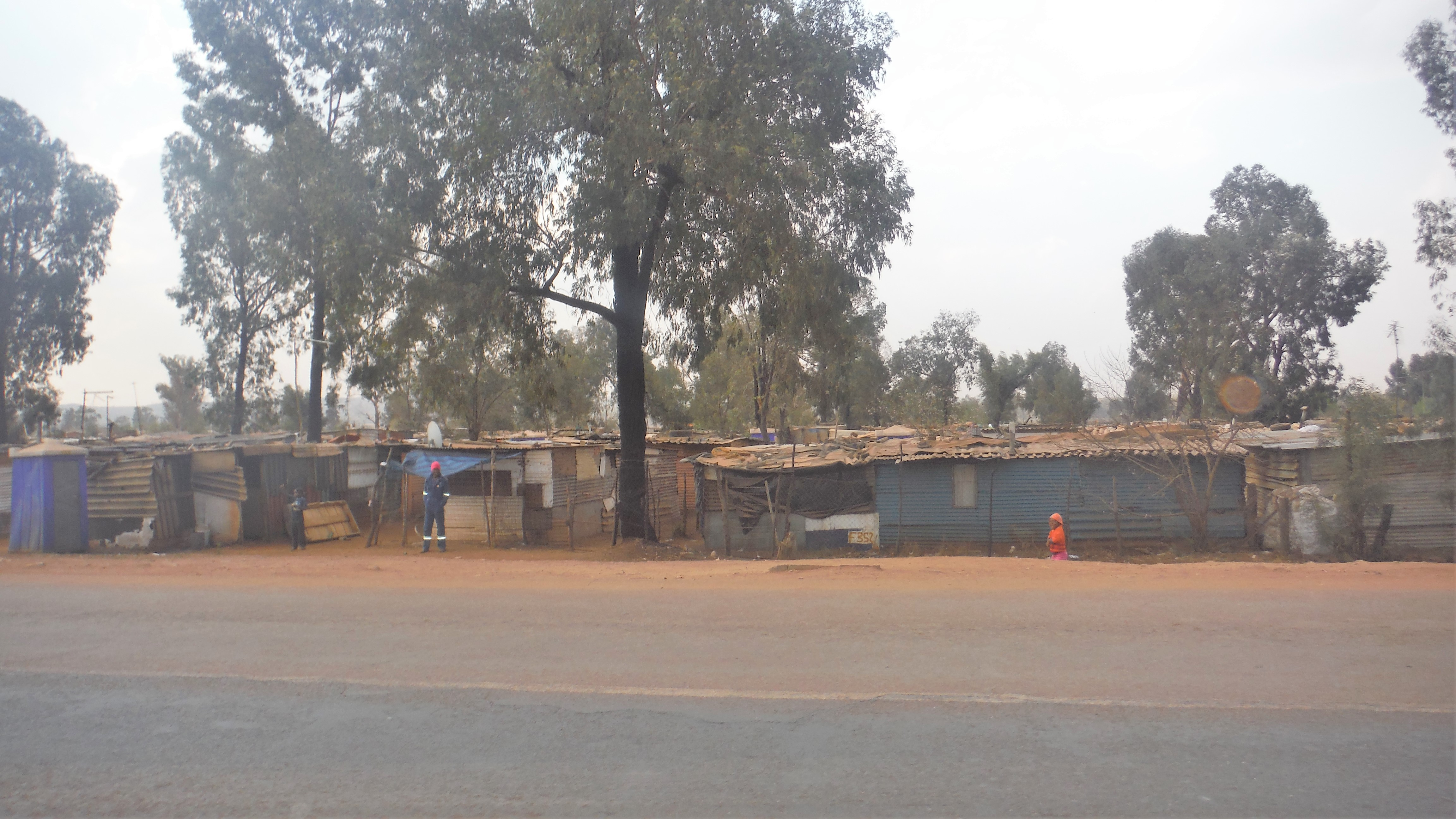 One of the Shanty towns