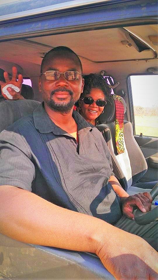 Photo bomb Pastor Gondwe