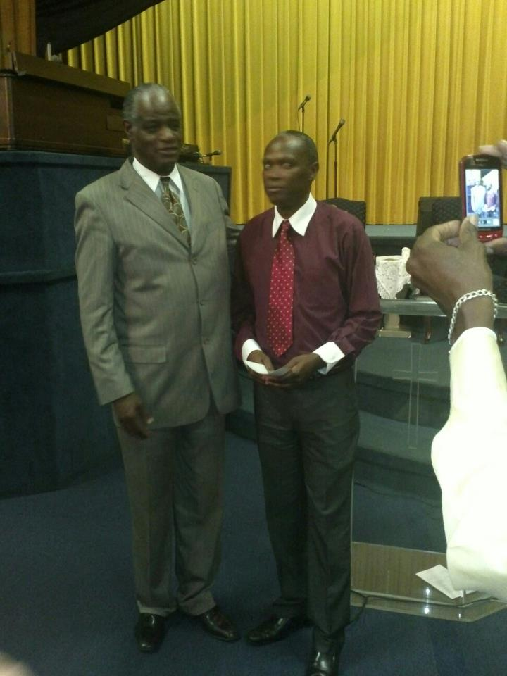 Pastors Moss and Josiah