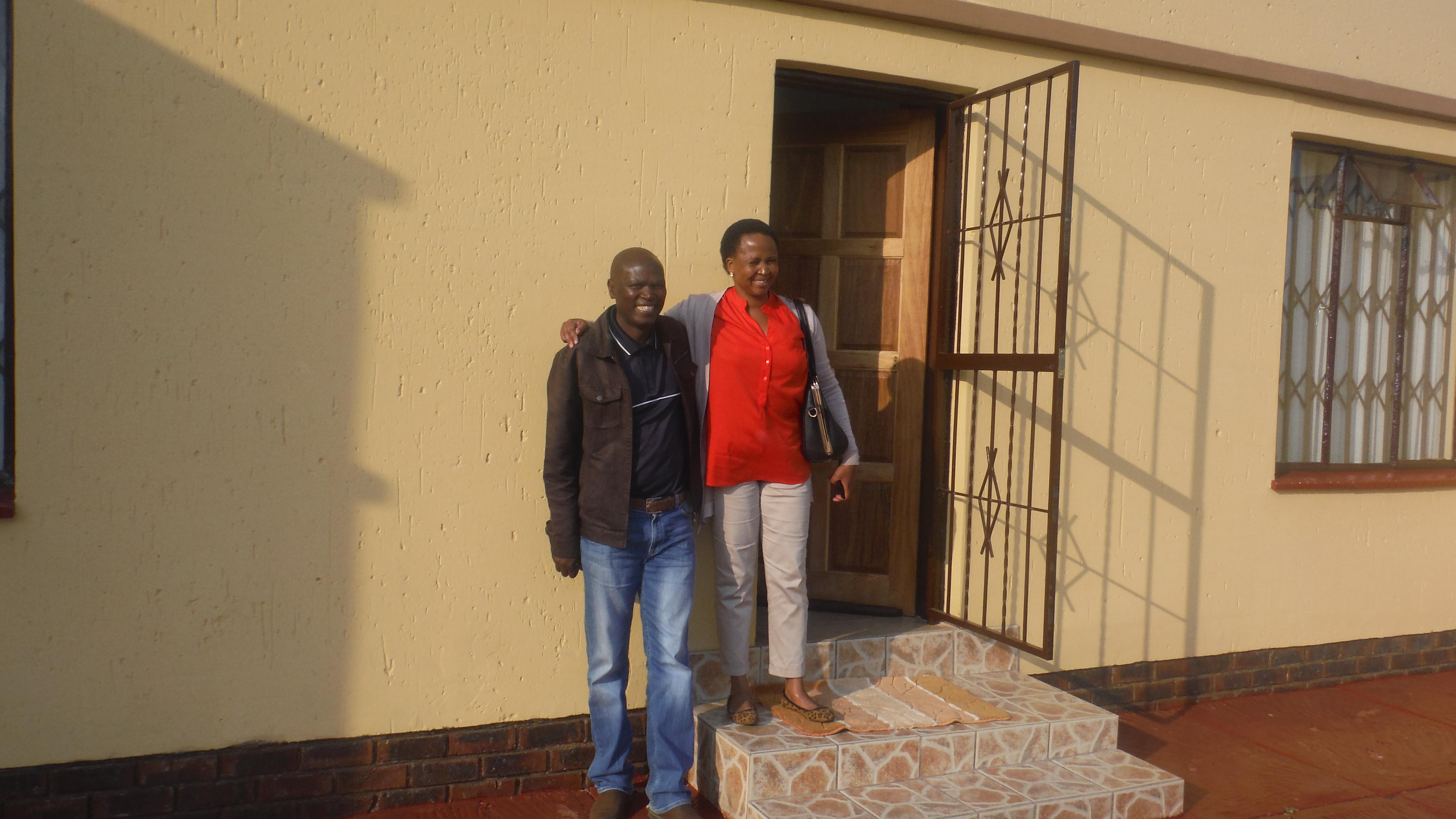 Pastor & Mrs. Motlounge