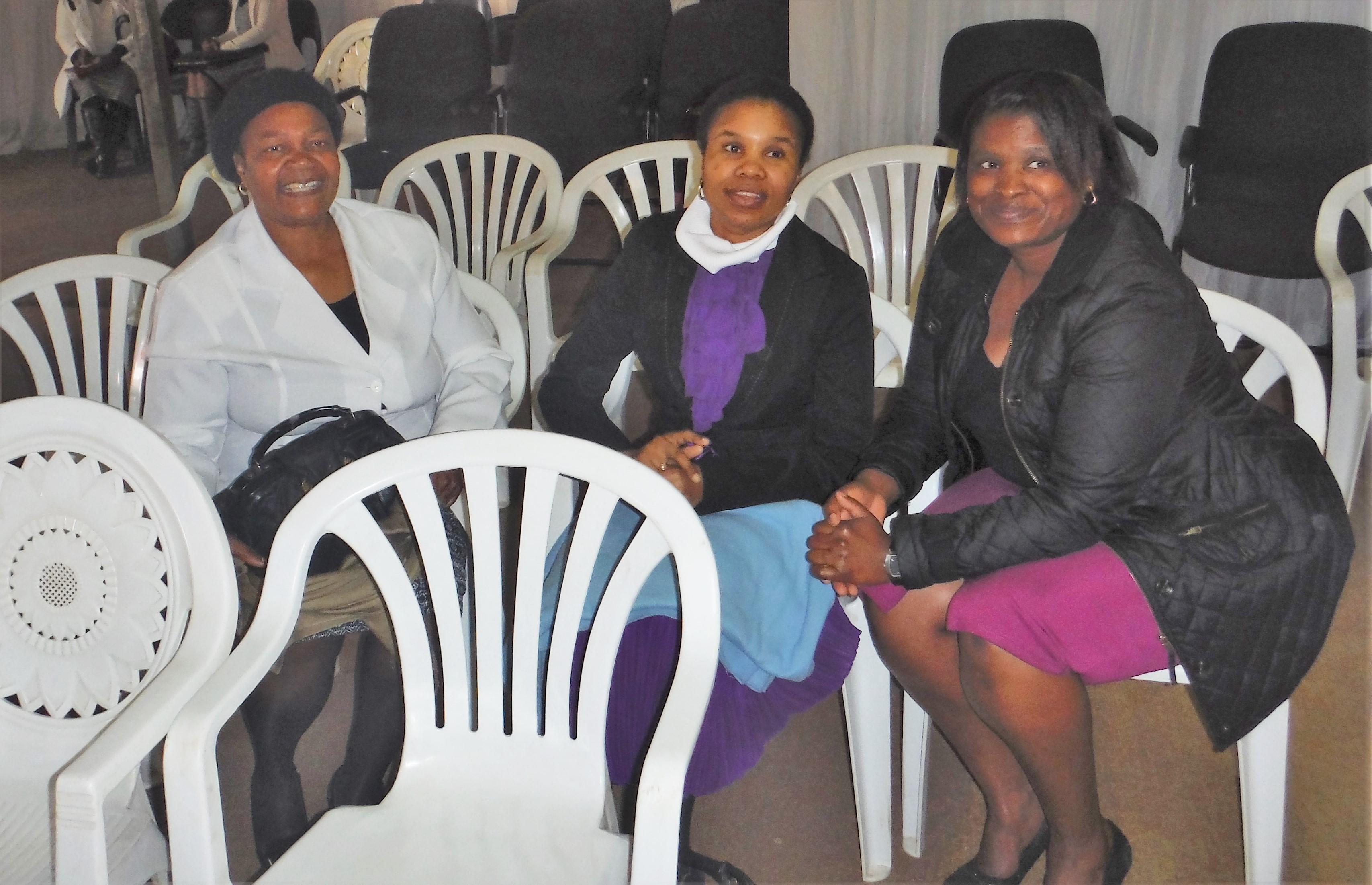 A few Sisters of C.R.M.