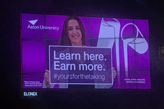 Aston University Campaign Launch: Yours For The Taking