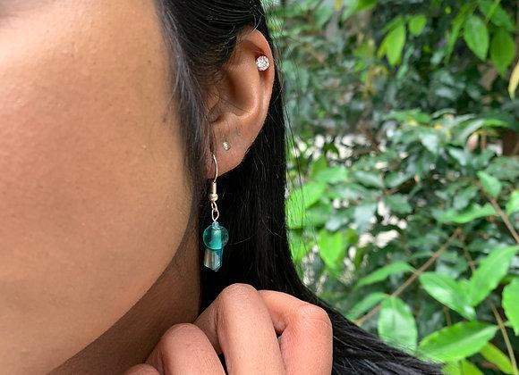 Emarodi Clear Earrings