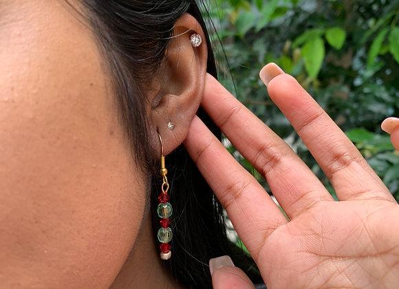 Scarlet n Sage Earrings