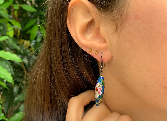 Floral Style Summer Earrings