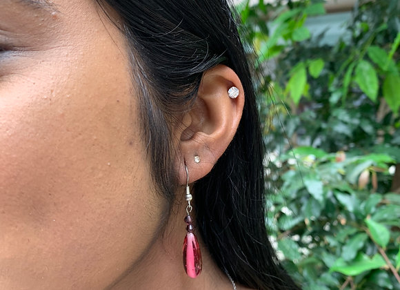 Crimson Taekis Earrings