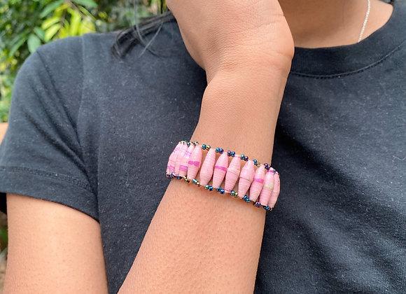 Kukwera in Pink Bracelet