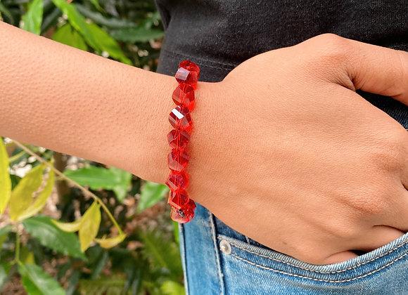 Infinite Red Haba Bracelet