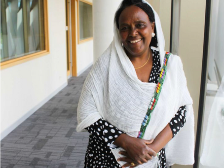 A Helping Hand Goes A Long Way: #wonderwoman Saba Abraham