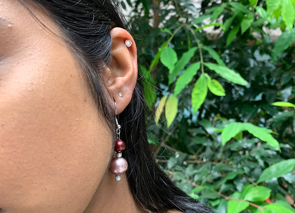 Peachy Haba Earrings