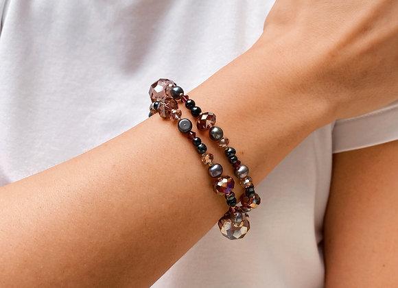 Kuwala in Black Bracelets
