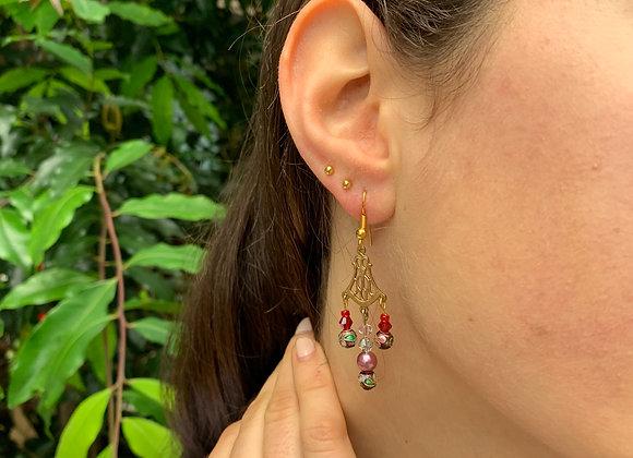 Jamila in Pink Earrings