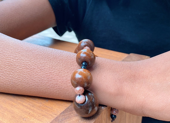 Zovuta Brown Bracelet