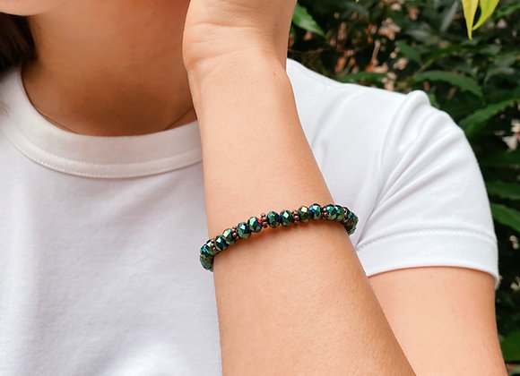 Emerald Shine Bracelet