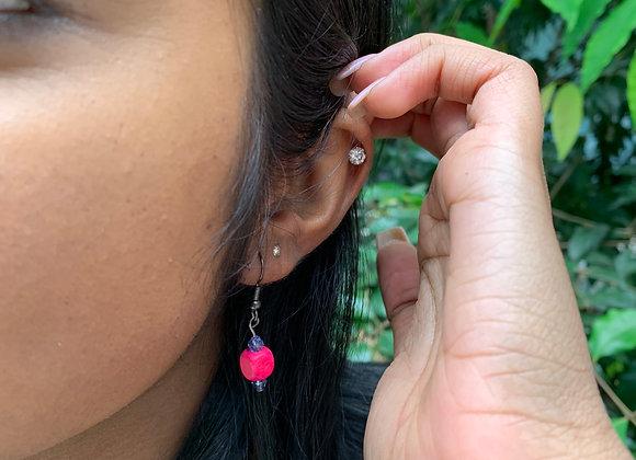 Little Red Box Earrings