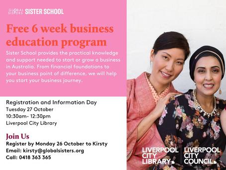 Free 6 Week Business Education Program