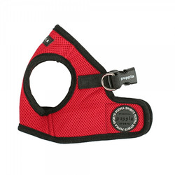 soft vest harness red