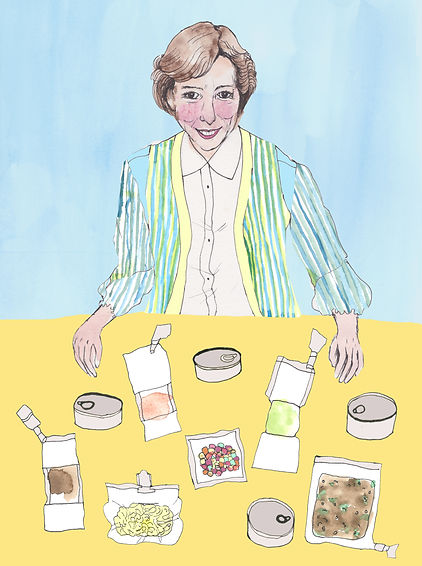 Rita Rapp illustration a galaxy of her own Libby Jackson