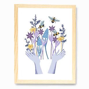 Framed flower print.jpg